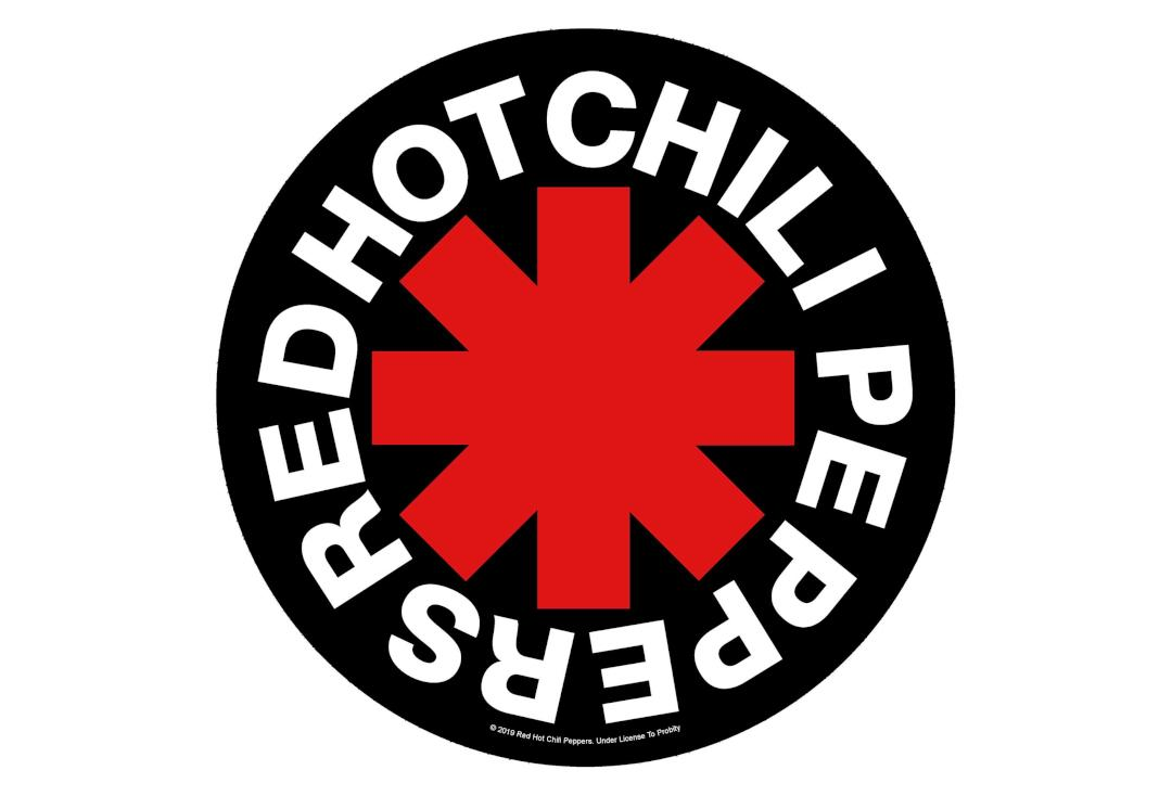 Official Band Merch | Red Hot Chili Peppers - Asterix Printed Back Patch