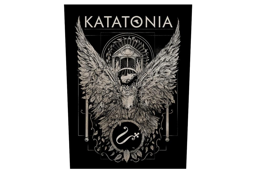 Official Band Merch | Katatonia - Temple Printed Back Patch