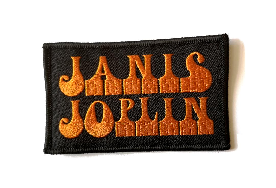 Official Band Merch | Janis Joplin - Logo Woven Patch