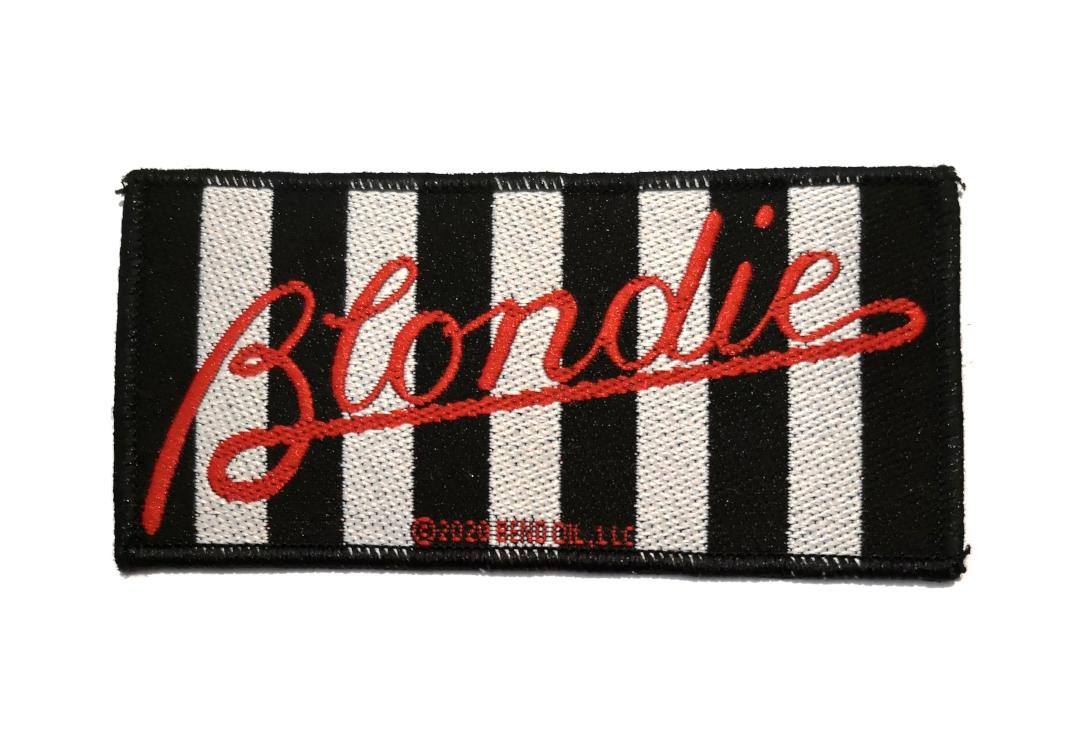 Official Band Merch | Blondie - Parallel Lines Woven Patch
