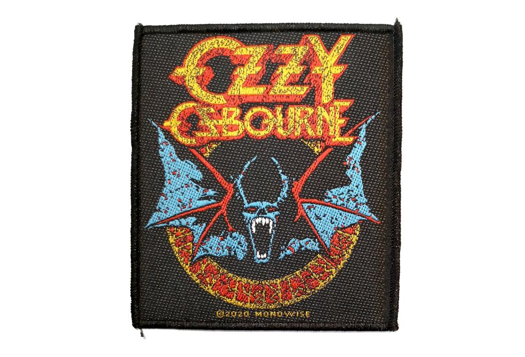 Official Band Merch | Ozzy Osbourne - Bat Woven Patch