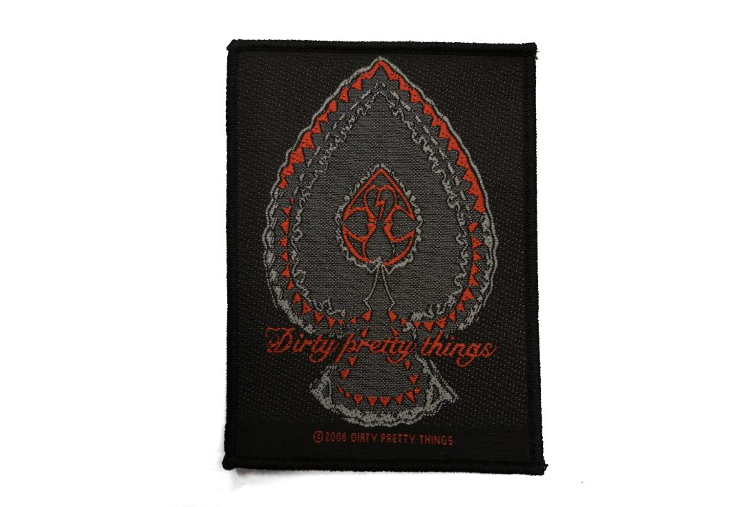 Official Band Merch | Dirty Pretty Things - Spade Woven Patch