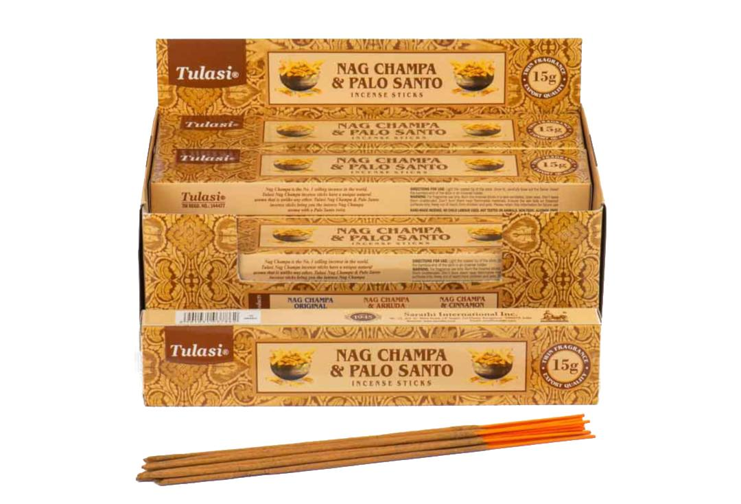 TUlasi | Palo Santo & Nag Champa Incense Sticks