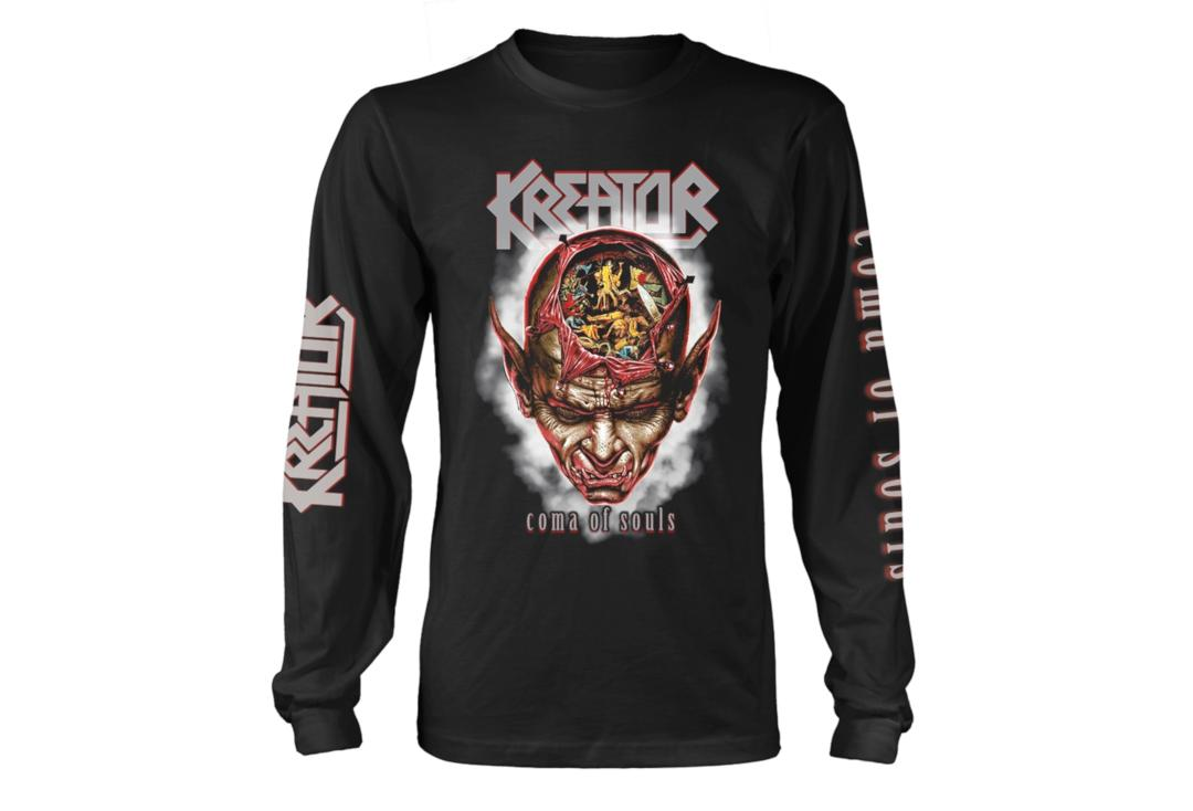 Official Band Merch | Kreator - Coma Of Souls Men's Official Long Sleeve T-Shirt