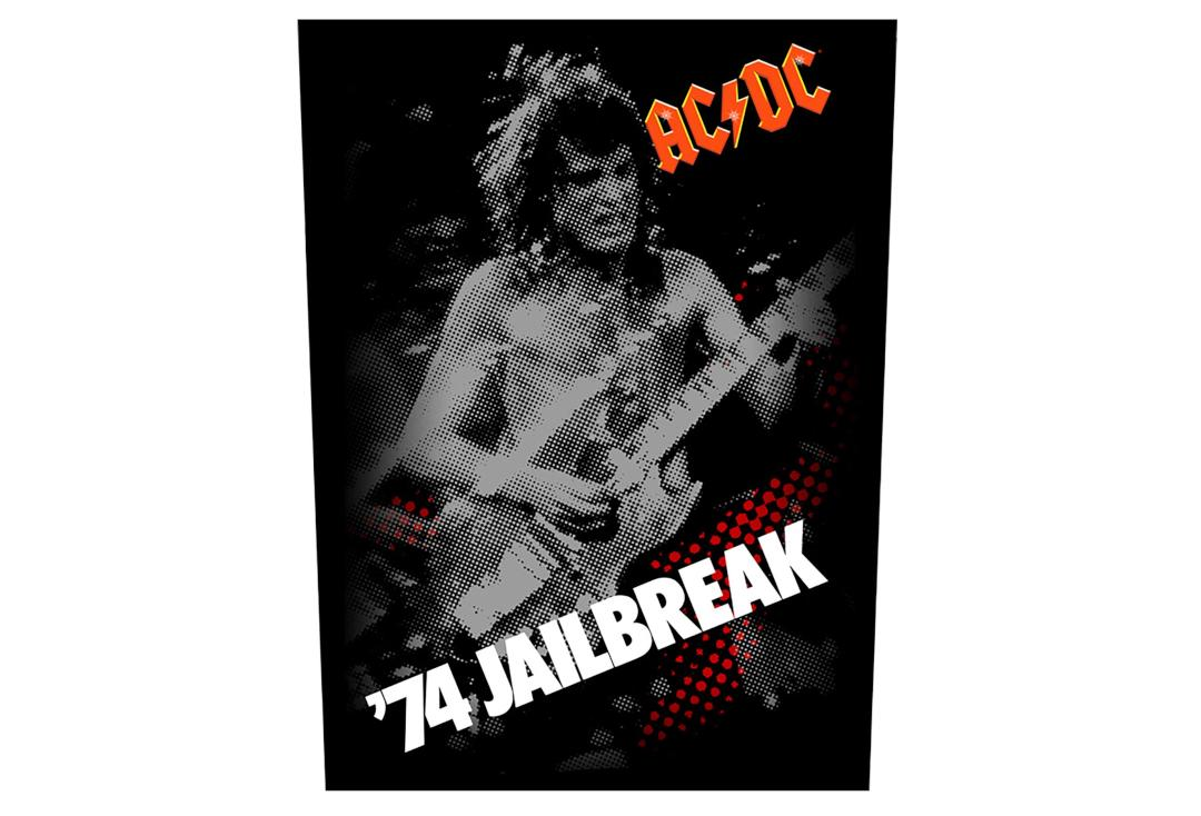 Official Band Merch | AC/DC - '74 Jailbreak Printed Back Patch