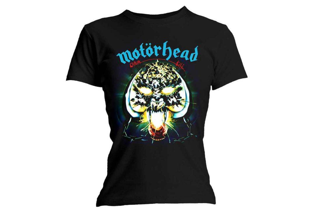 Official Band Merch | Motorhead - Overkill Skinny Fit Women's T-Shirt