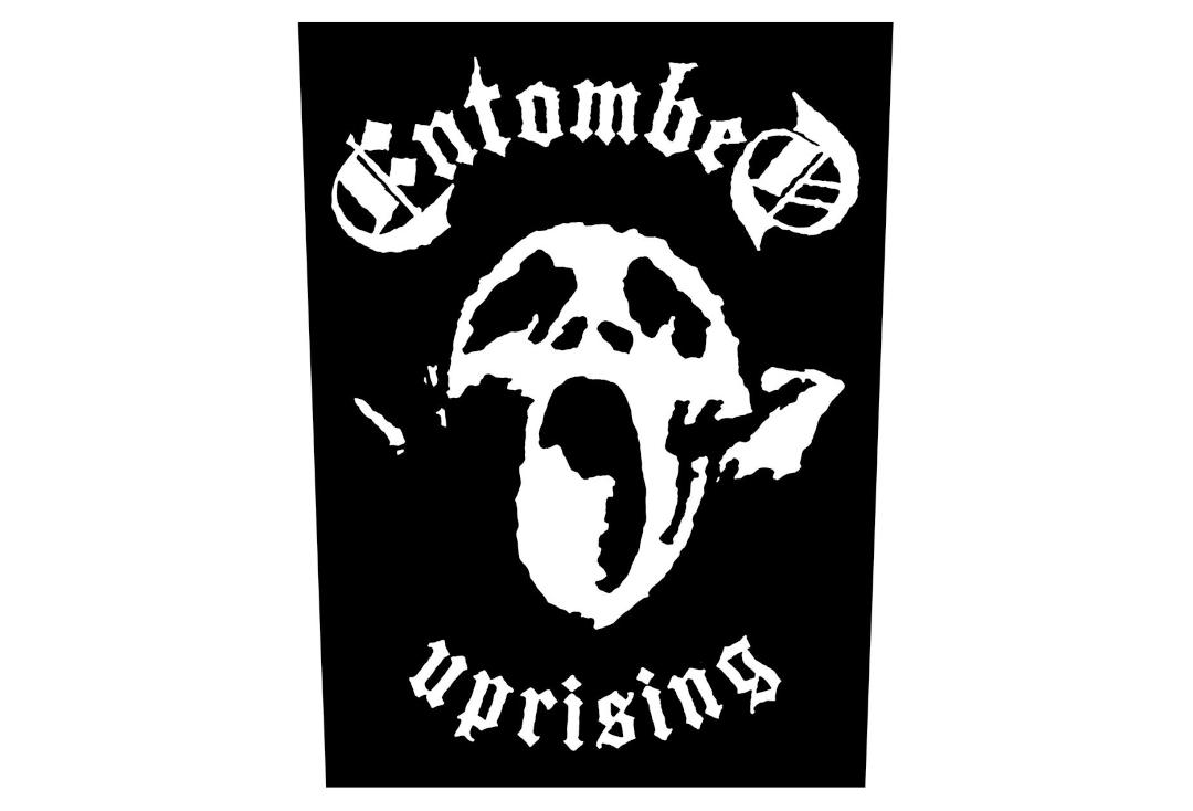 Official Band Merch | Entombed - Uprising Printed Back Patch