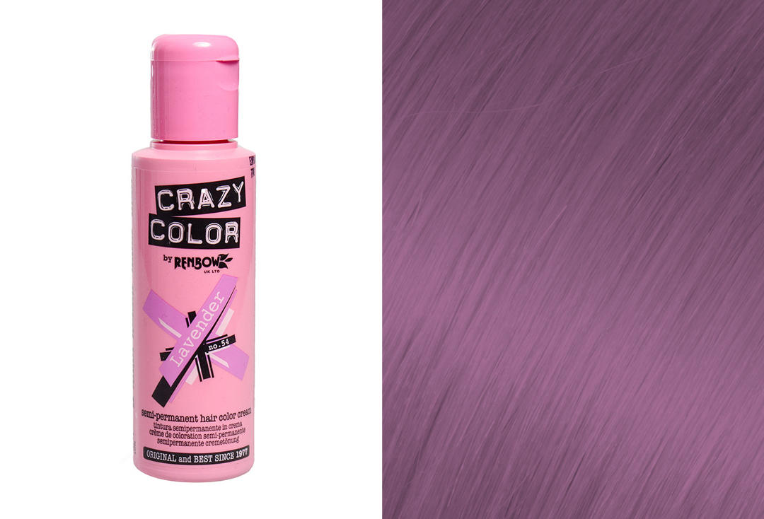 Renbow | Crazy Color Semi-Permanent Hair Colour (054 Lavender)