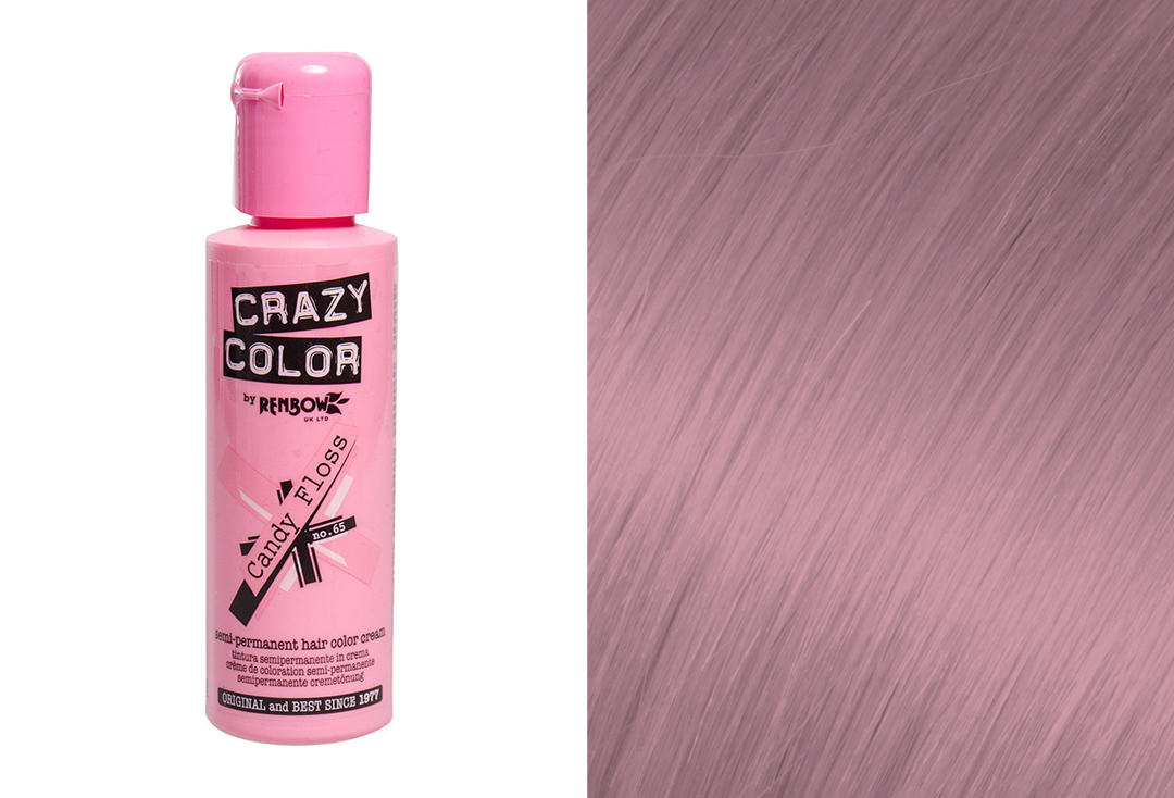 Renbow | Crazy Color Semi-Permanent Hair Colour (065 Candy Floss)