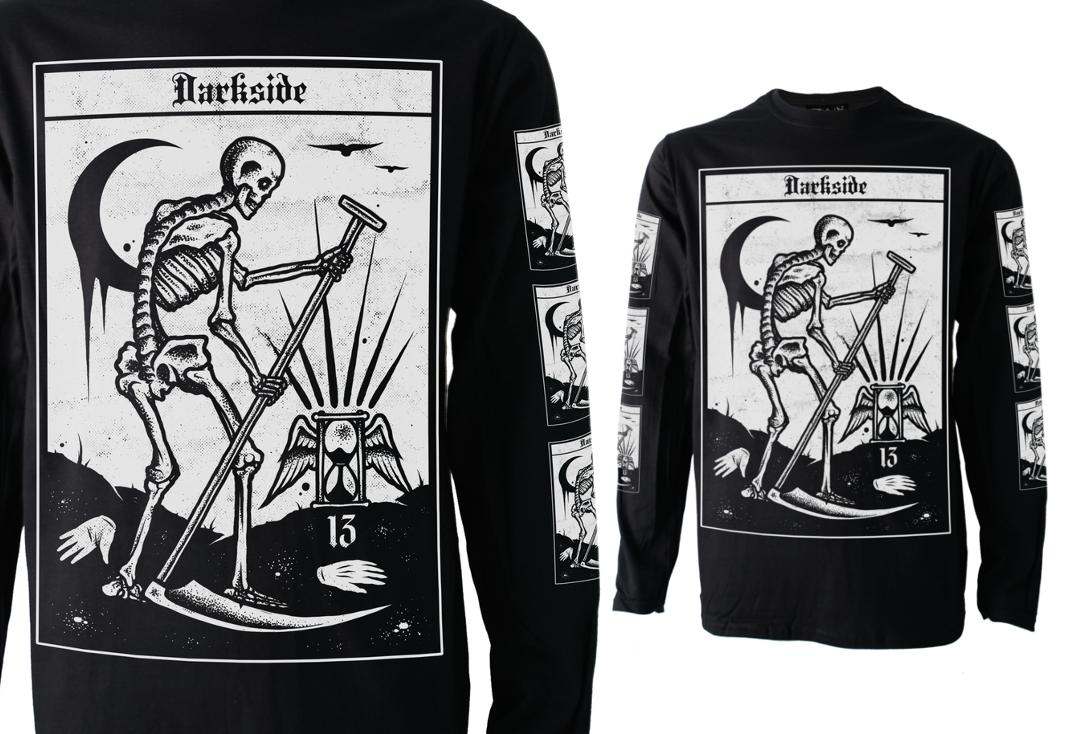 Darkside | Death Tarot Long Sleeve Men's Tee