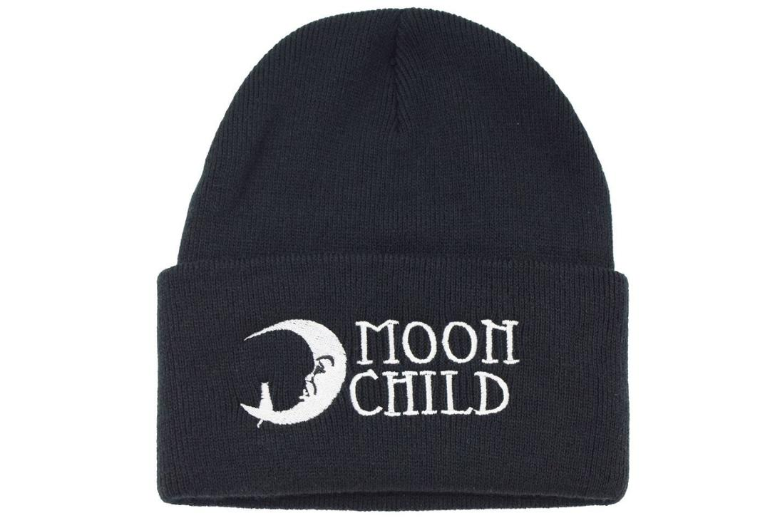 Darkside | Moonchild Black Beanie Hat - Front