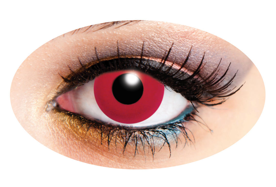 Innovision | Red Solid Tone 90 Day Contact Lenses