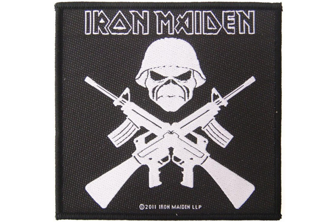 Official Band Merch | Iron Maiden - A Matter Of Life And Death Woven Sew On Patch