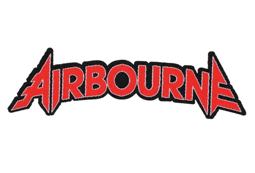 Official Band Merch | Airbourne - Logo Woven Patch