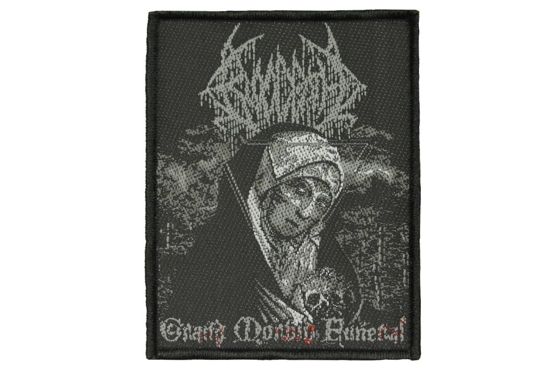 Official Band Merch | Bloodbath - Grand Morbid Funeral Woven Patch