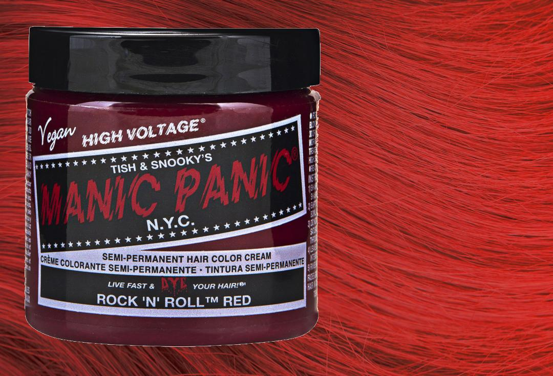 Manic Panic | Rock 'N' Roll Red High Voltage Classic Cream Hair Colour