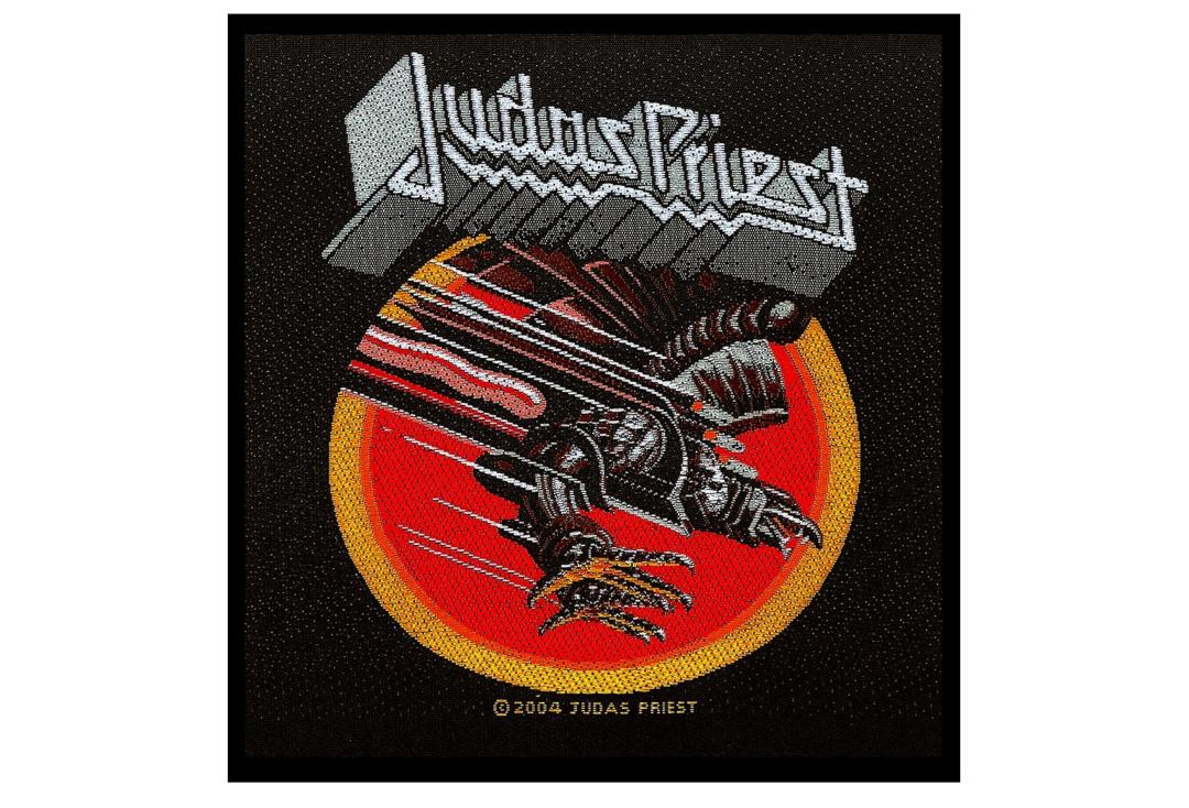 Official Band Merch | Judas Priest - Screaming For Venegance Woven Patch