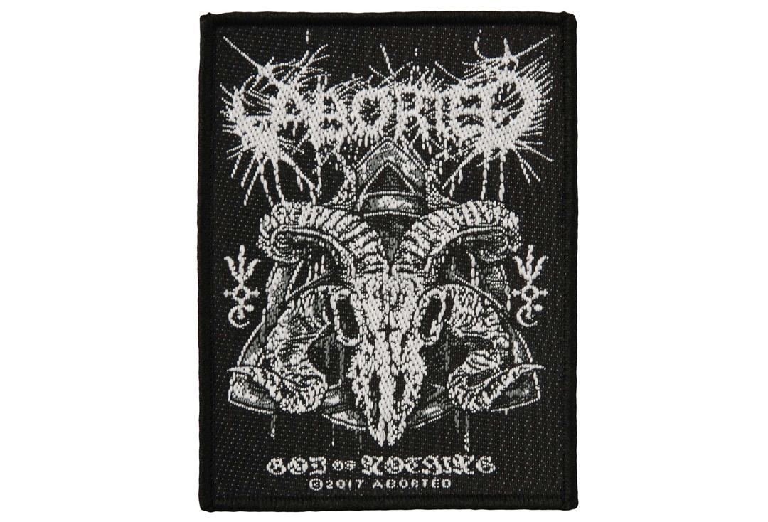 Official Band Merch | Aborted - God Of Nothing Woven Patch