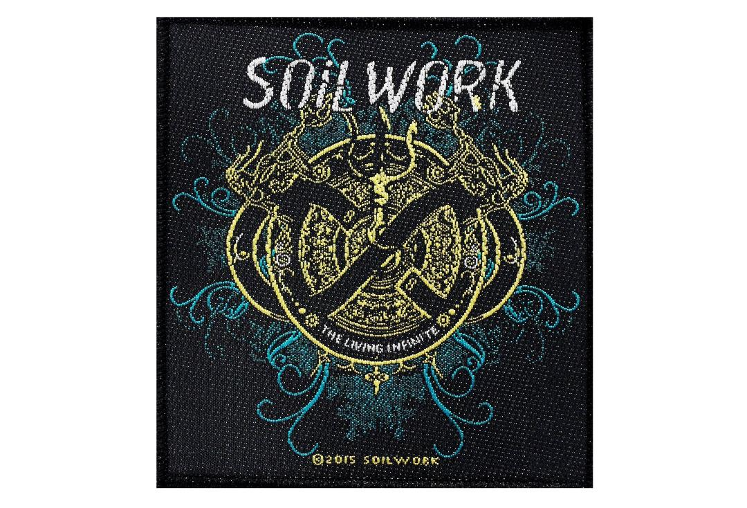 Official Band Merch | Soilwork - The Living Infinite Woven Patch