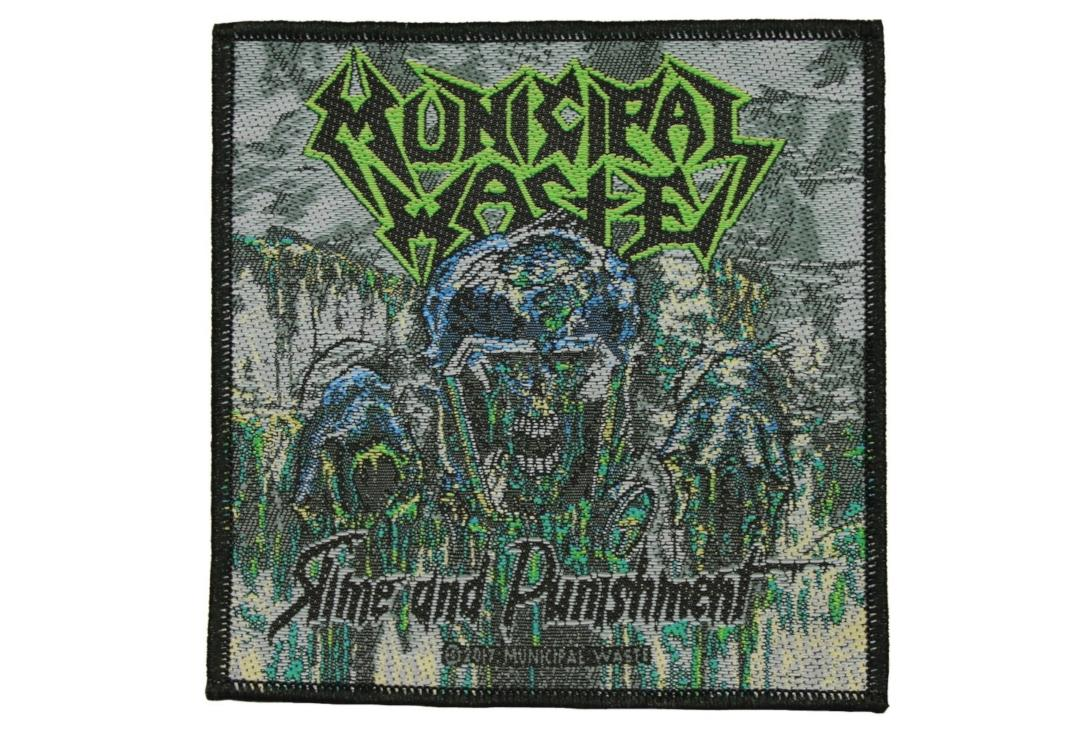 Official Band Merch | Municipal Waste - Slime And Punishment Woven Patch
