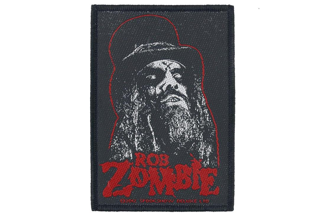 Official Band Merch | Rob Zombie - Portrait Woven Patch