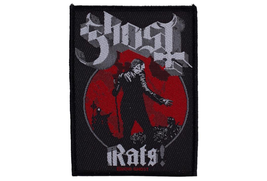 Official Band Merch | Ghost - Rats! Woven Patch