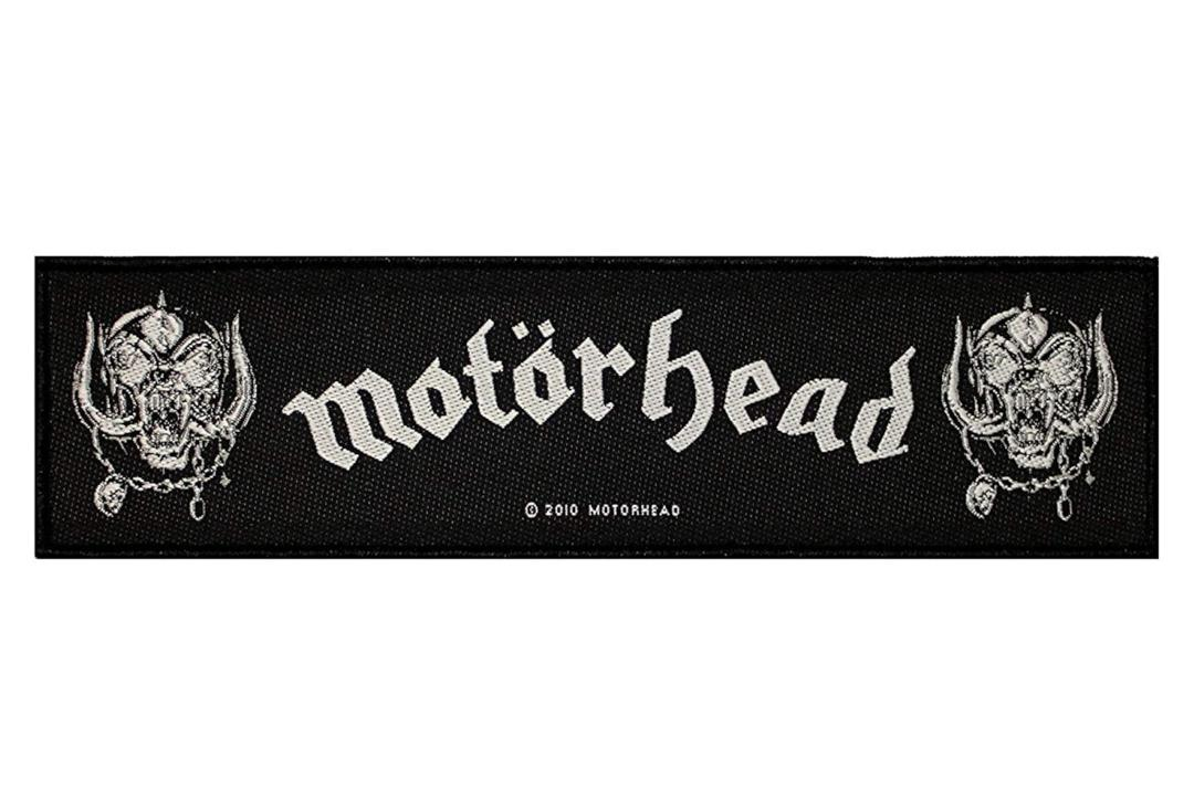 Official Band Merch | Motorhead - War Pigs Super Strip Woven Patch