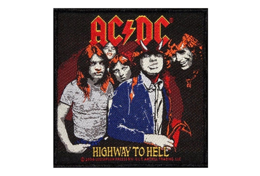 Official Band Merch | AC/DC - Highway To Hell Woven Patch