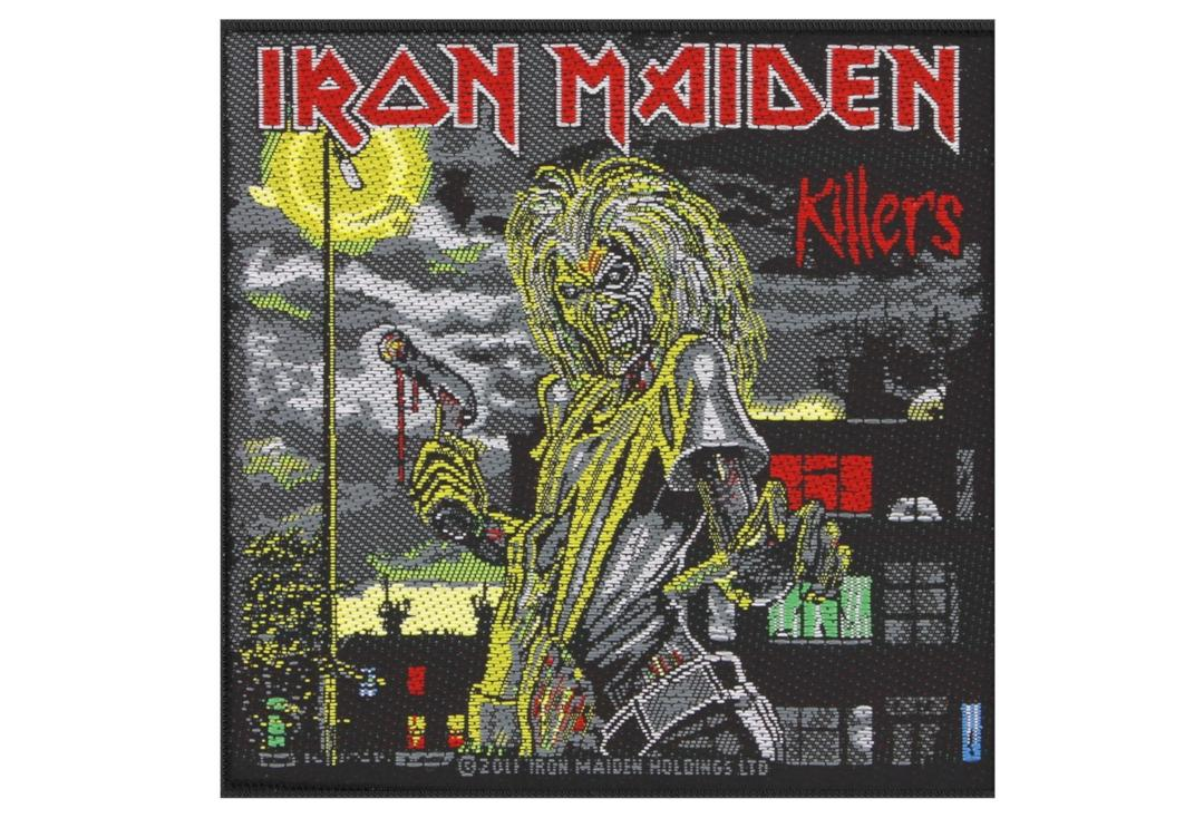 Official Band Merch | Iron Maiden - Killers Woven Patch