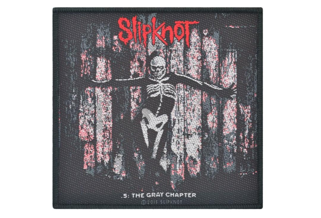 Official Band Merch | Slipknot - The Gray Chapter Woven Patch
