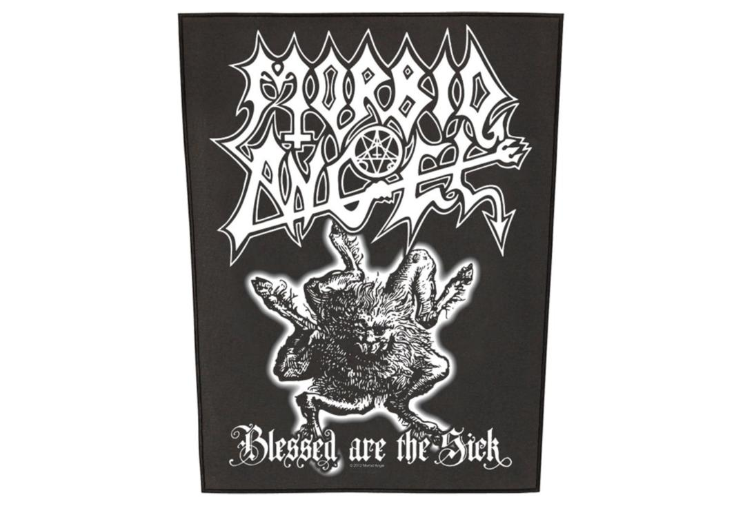 Official Band Merch | Morbid Angel - Blessed Are The Sick Printed Back Patch