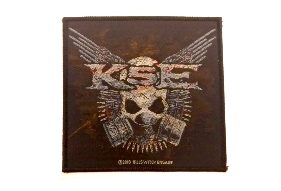 Official Band Merch | Killswitch Engage - Gas Mask Woven Patch
