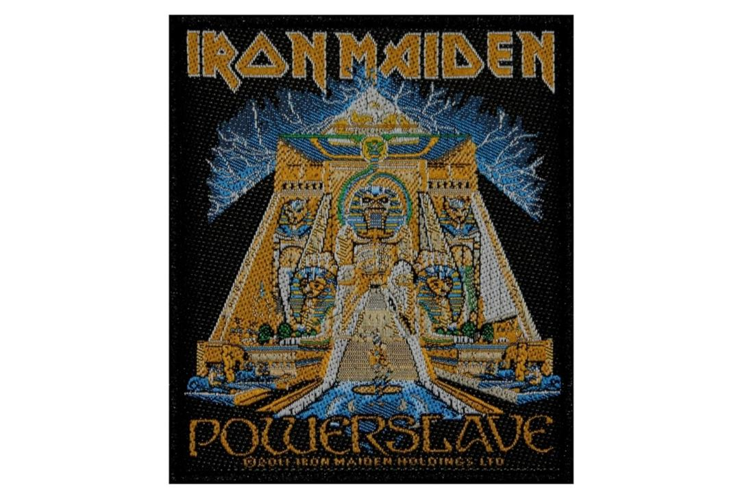 Official Band Merch | Iron Maiden - Powerslave Woven Patch