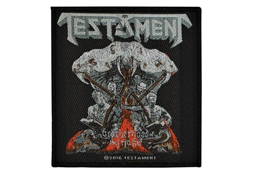 Official Band Merch | Testament - Brotherhood Of The Snake Woven Patch