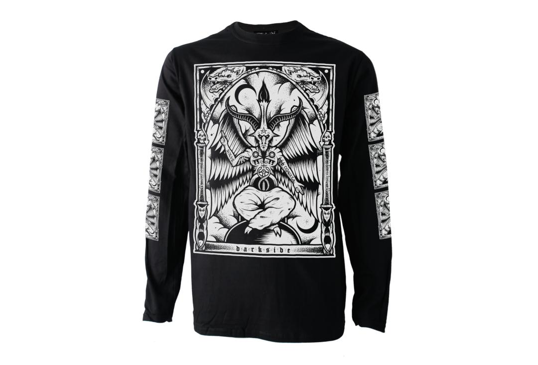 Darkside | Baphomet Long Sleeve Men's T-Shirt - Front