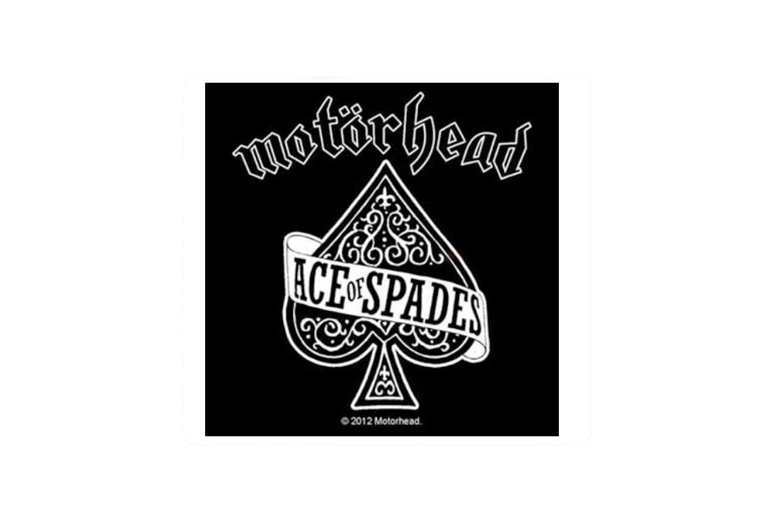 Official Band Merch | Motorhead - Ace Of Spades Vinyl Sticker
