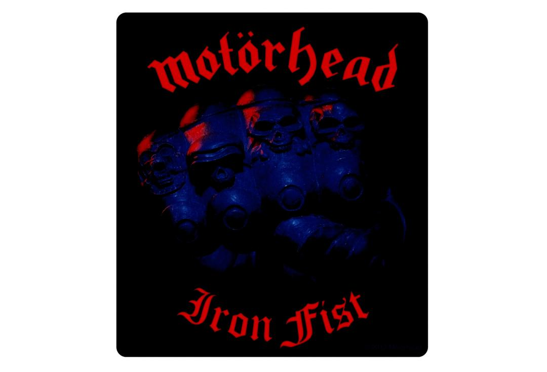 Official Band Merch | Motorhead - Iron fist Vinyl Sticker