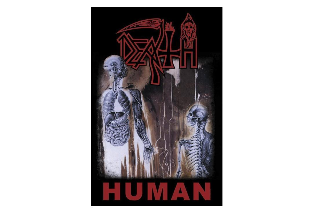 Official Band Merch | Death - Human Printed Textile Poster