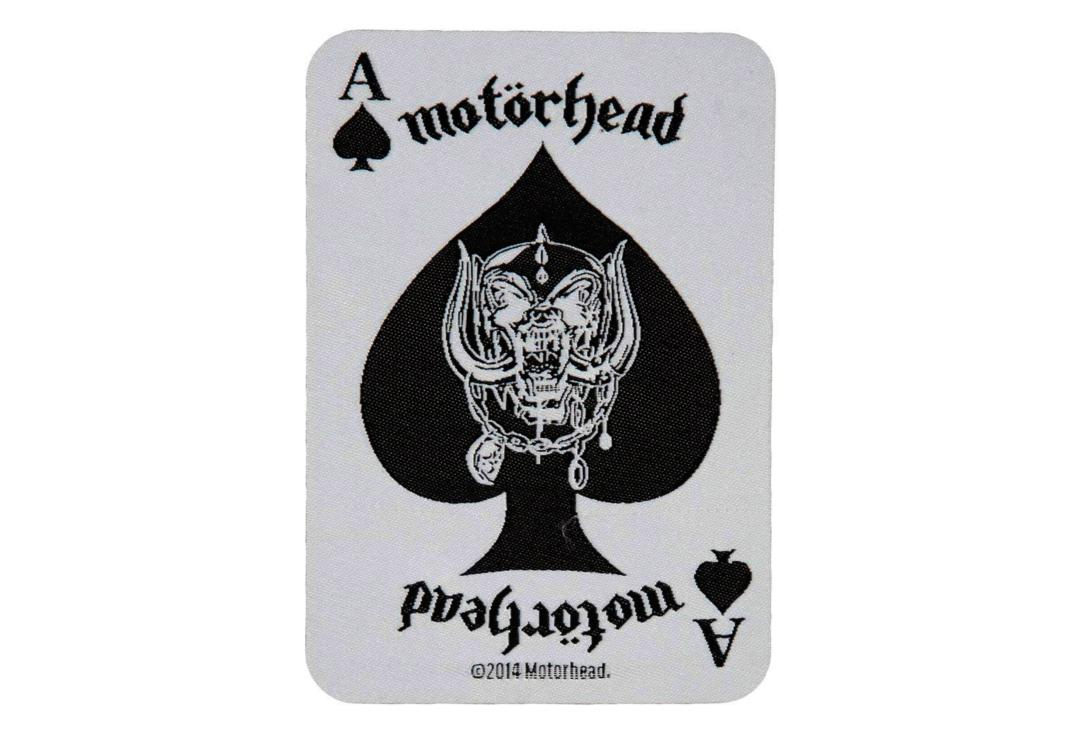 Official Band Merch | Motorhead - Ace Of Spades Card Woven Patch