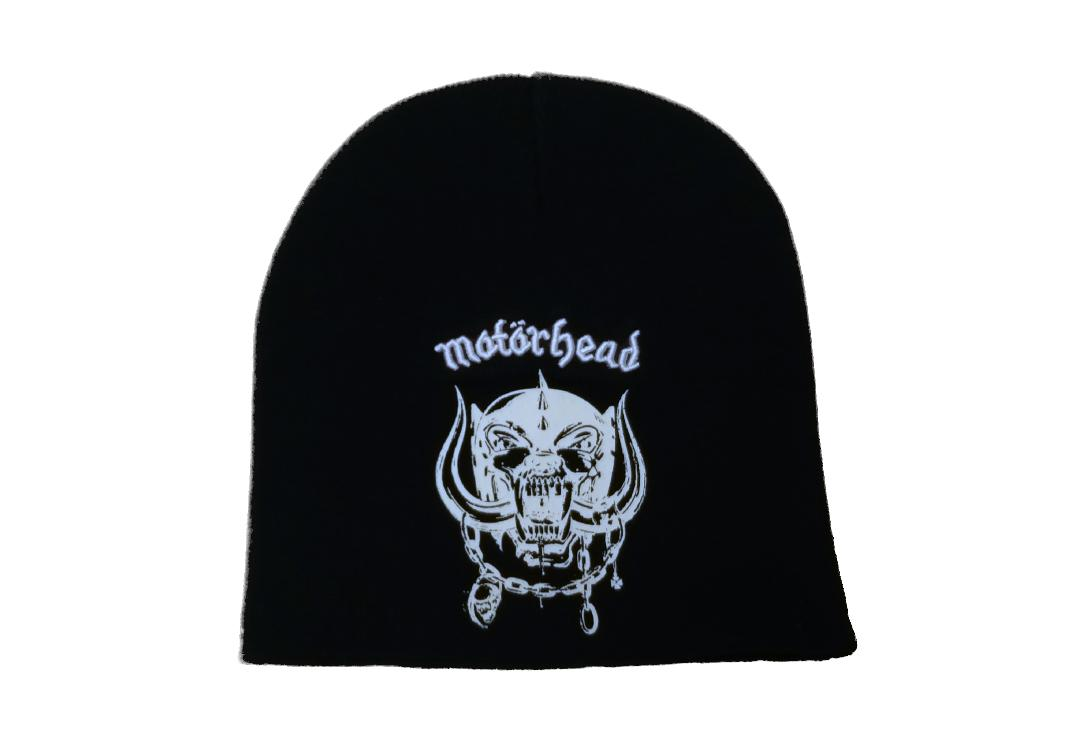 Official Band Merch | Motorhead - Logo Beanie Hat