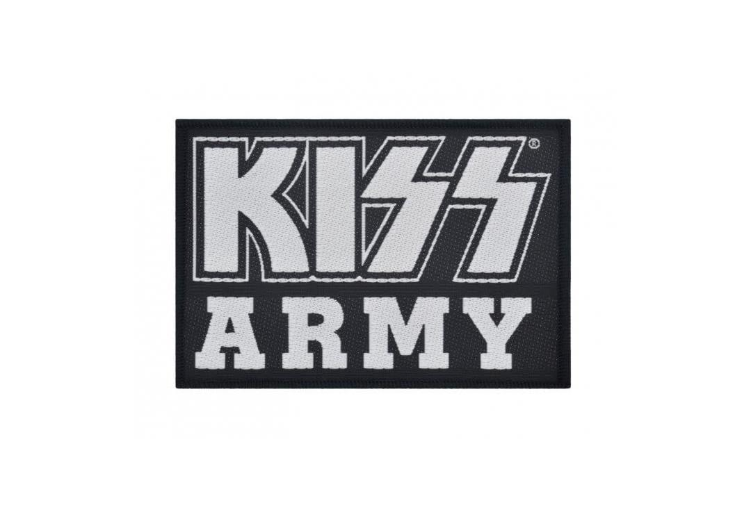 Official Band Merch | Kiss - Kiss Army Woven Patch