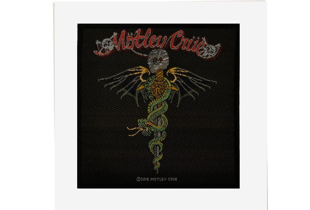 Official Band Merch | Motley Crue - Dr Feelgood Woven Patch