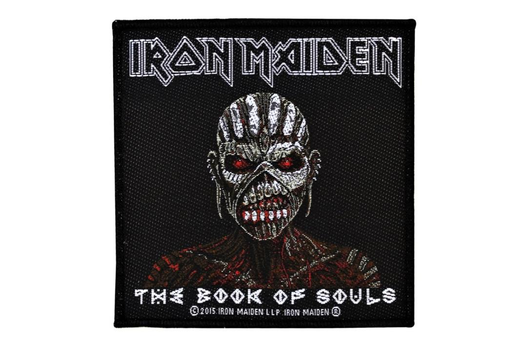Official Band Merch | Iron Maiden - The Book Of Souls Woven Patch