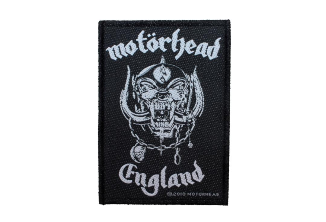 Official Band Merch | Motorhead - England Woven Patch