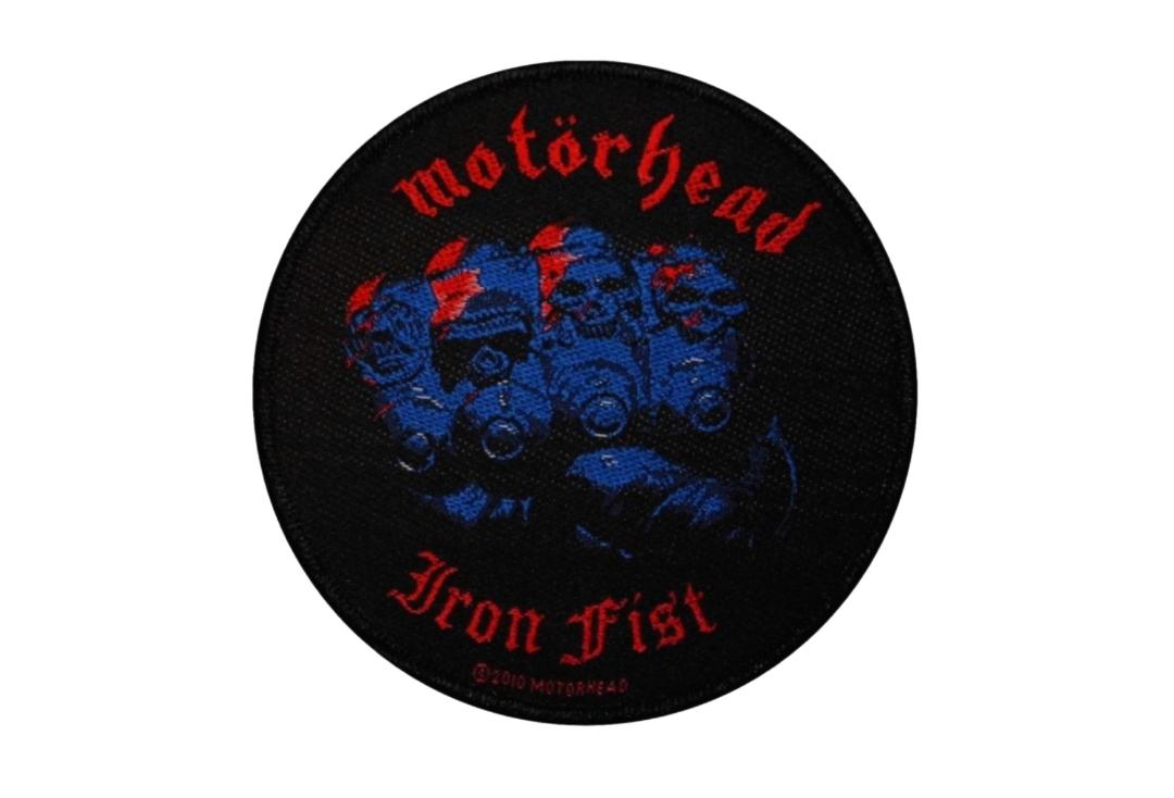 Official Band Merch | Motorhead - Iron Fist Woven Patch