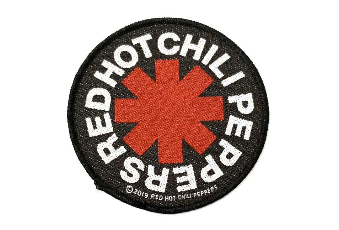 Official Band Merch | Red Hot Chili Peppers - Asterisk Woven Patch