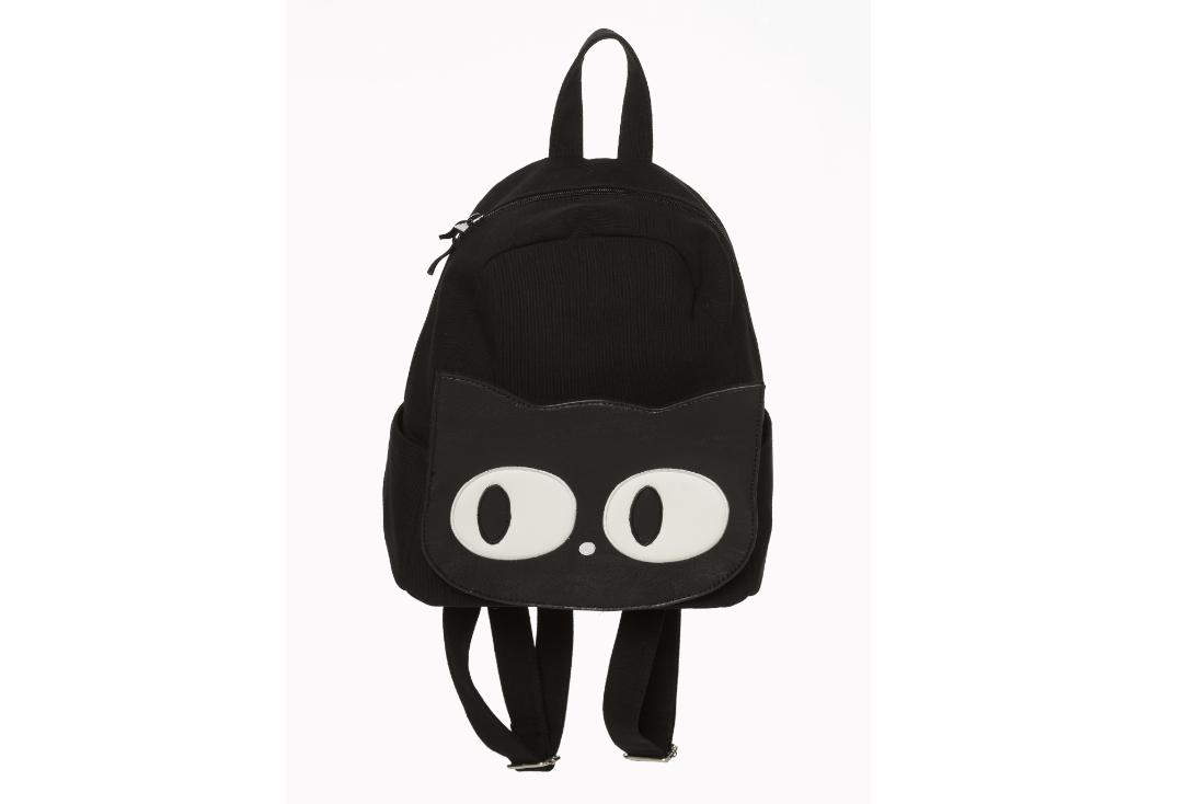 Banned Apparel | Maxwell Cat Eye Small Backpack - Front