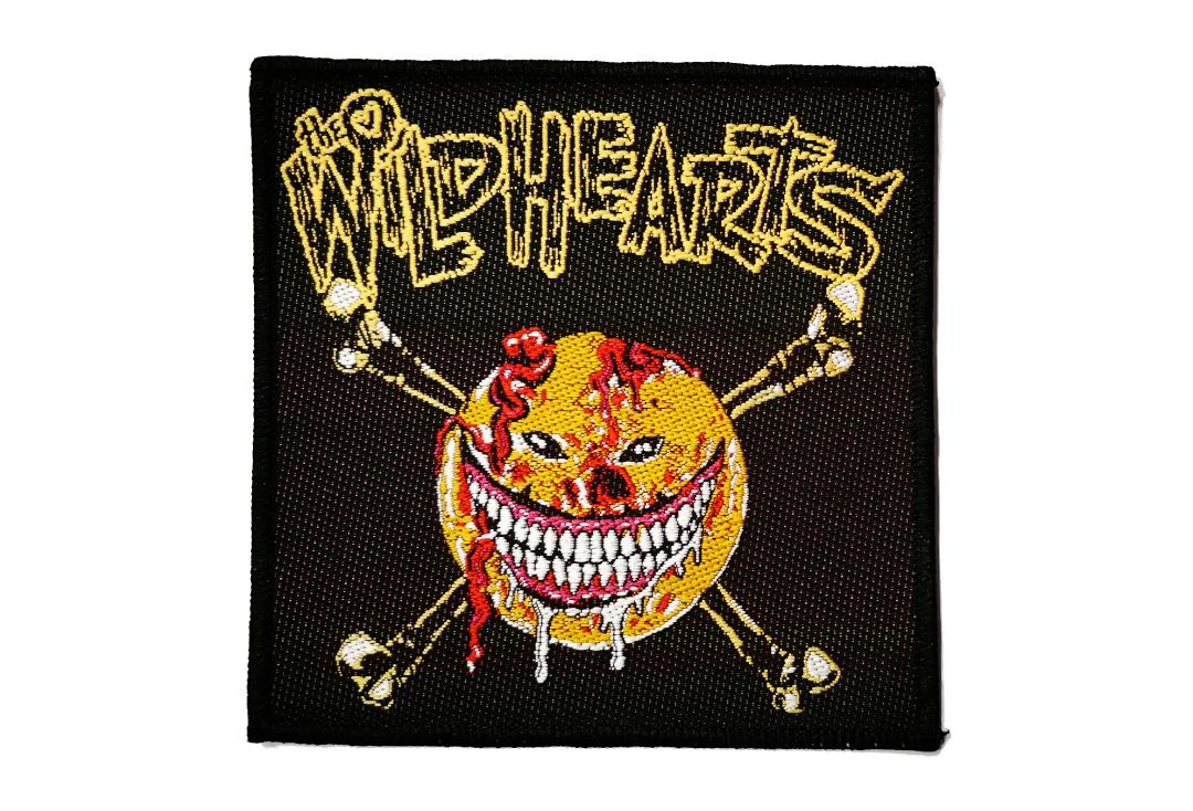 Official Band Merch | The Wildhearts - Smiley Face Woven Patch