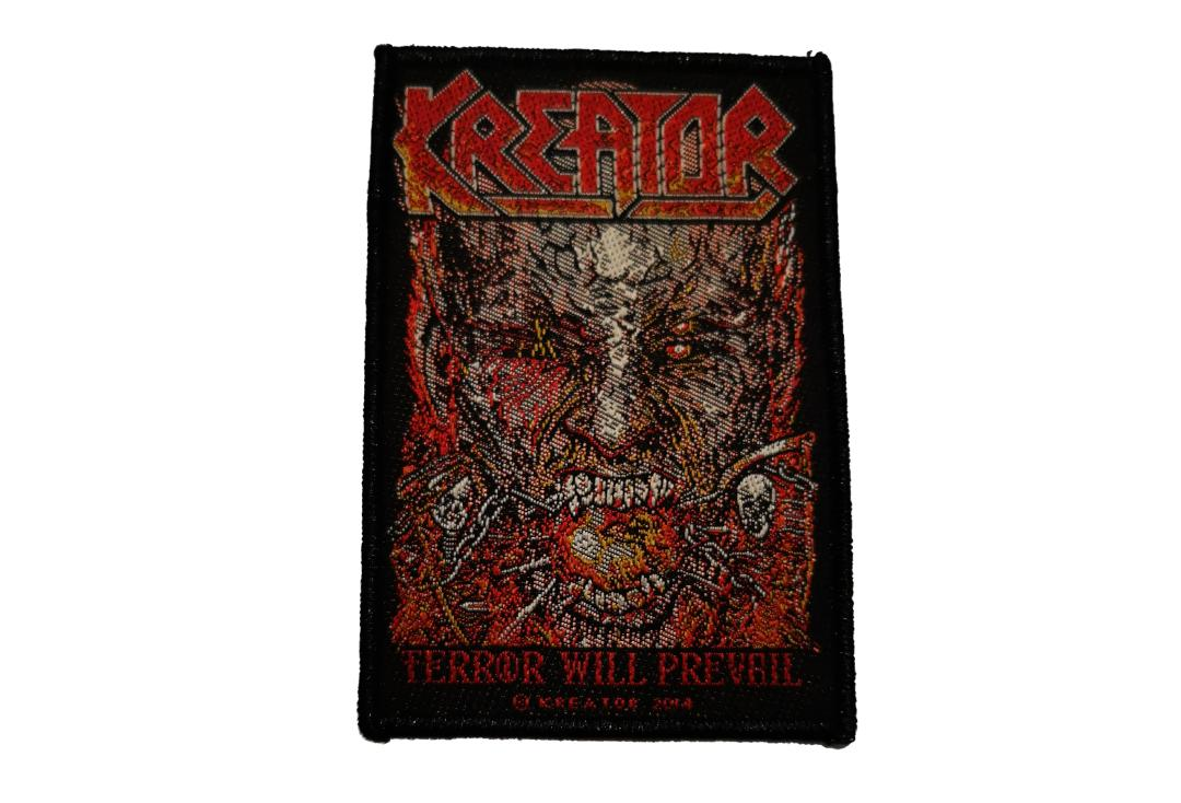 Officia Band Merch | Kreator - Terror Will Prevail Woven Patch