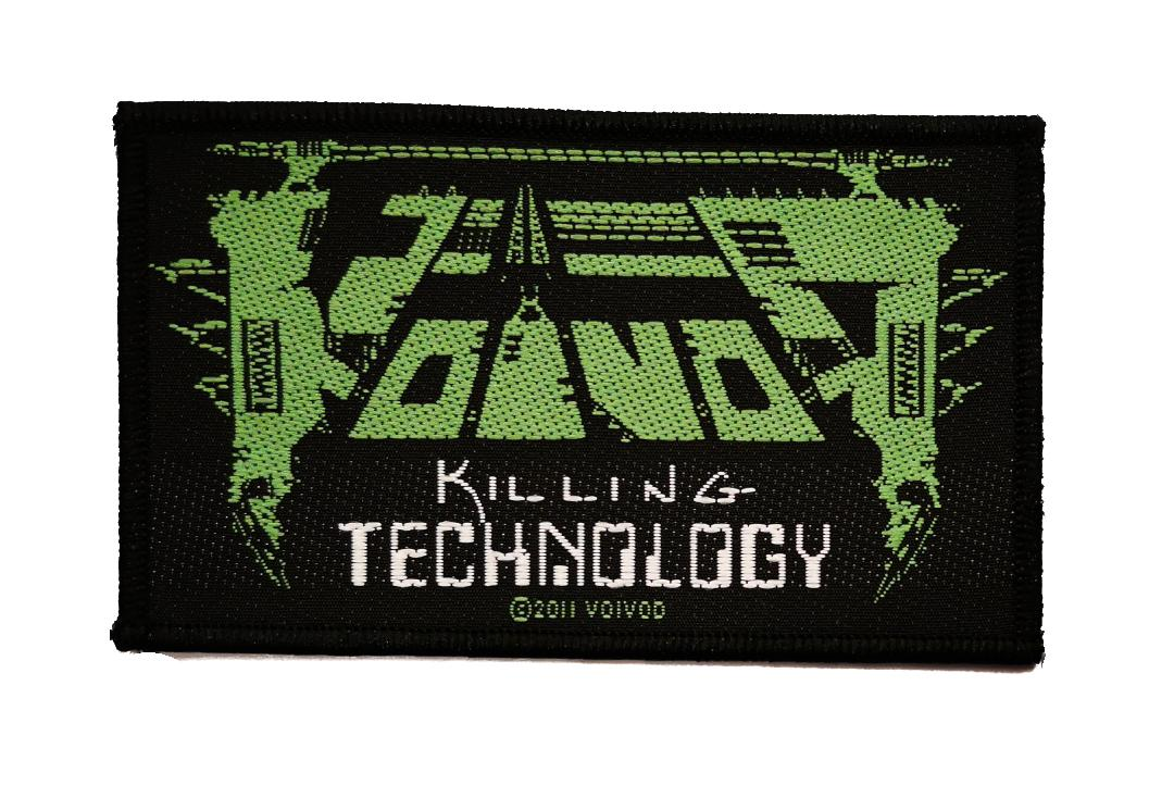 Official Band Merch | Voivod - Killing Technology Woven Patch